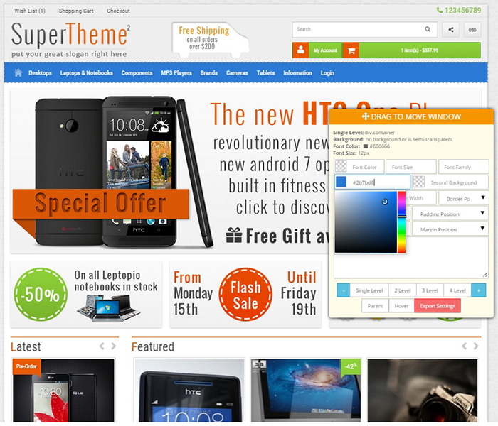 Opencart supertheme 2 opencart 2x template the old version of the theme for opencart 15x is no longer supported if you purchased the theme for 15x before and you need to download that version maxwellsz